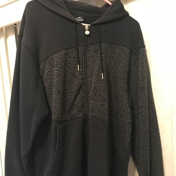 jordan elephant print jacket